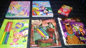 coloring books in Houston, Texas