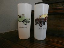 2 frosted classic car cups from 1960's in Cleveland, Texas