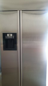 GE  42 inch stainless refrigerator in Cleveland, Texas