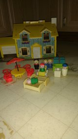 Fischer Price little people and furniture in Bartlett, Illinois
