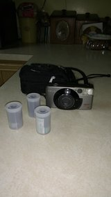 Canon 35 millimeter camera with 3 roles of film in Chicago, Illinois