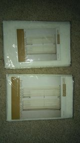 63 inch window panels 2 per package NIP in Bolingbrook, Illinois