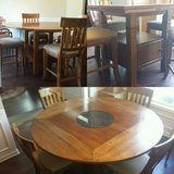 Havertys Counter height table and chairs in Columbus, Georgia