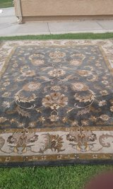 Two 8'x10' Wool Area Rugs in 29 Palms, California