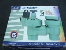 "Water Master Anti-siphon Sprinkler Valve 3/4"" Model 57223 NEW in Aurora, Illinois"