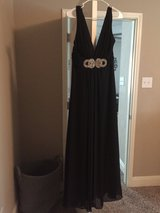 Black Ball dress in Fort Sam Houston, Texas