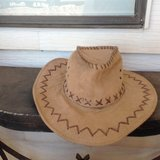 Leather hat in Alamogordo, New Mexico