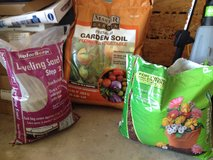 NEW 3 Bags!! garden soil and leveling sand in Aurora, Illinois