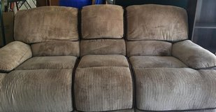 SOFA with recliners on each end in Baytown, Texas