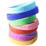 Awareness Silicone Bracelets - Order 100 and get 100 free in Dover AFB, Delaware