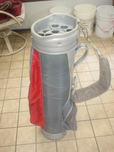 Golf Bag DATREK very nice Gray-Red w/14 individual tubes (for the fast sell) in Algonquin, Illinois