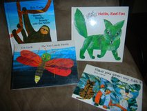 4 Eric Carle Hardcover Books Book Lot The Very Lovely Firefly Hello Red Fox + in Houston, Texas