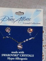 "new ""june"" necklace/earrings in Chicago, Illinois"