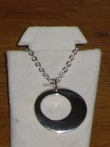 silver circle necklace in Glendale Heights, Illinois