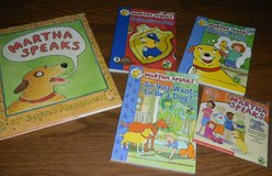 Martha Speaks Book Lot 1 Hardcover w/ DJ + 3 PB Books + 1 CD in Houston, Texas