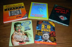 5 Ripley's Believe It Or Not Hardcover Books Book Lot Bizarre Weird Remarkable in Houston, Texas
