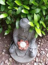 buddha as decoration in Ramstein, Germany
