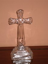 """fine crystal 9-1/2"""" standing cross in Bolingbrook, Illinois"""