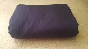 King fitted navy bed sheet in Sugar Grove, Illinois