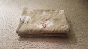 Standard Flannel Snowman pillowcases in St. Charles, Illinois