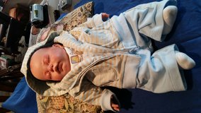 Reborn babe boy doll in Camp Lejeune, North Carolina