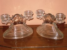 vintage art deco dbl candlesticks in Oswego, Illinois