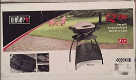Weber Gas Grill  portable tailgating in Camp Lejeune, North Carolina