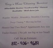 Home cleaning services in Conroe, Texas