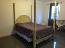 Handmade, Solid Wood 4 Post Bed in Ramstein, Germany