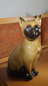 ceramic cat in Ramstein, Germany
