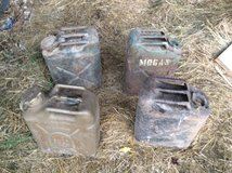 Army Gas Cans in Fort Knox, Kentucky