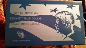 50th Anniversary Kennedy half dollars in Macon, Georgia