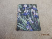 Iris Mini Garden Flag in Naperville, Illinois