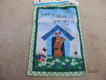 BN Home Is Where Your Dog Is  Mini Garden Flag in Naperville, Illinois