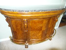 Solid Wood Home Bar Cabinet in Louisville, Kentucky
