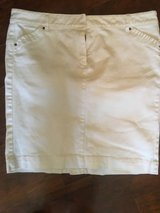 White Denim Pencil Skirt [12] in Beaufort, South Carolina