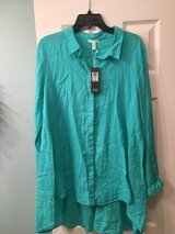 Eileen Fisher linen shirt - NWT  size L in The Woodlands, Texas