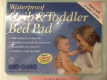 Kid-Ding Waterproof Crib & Toddler Bed Pad in Houston, Texas