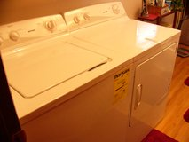Hotpoint washer and dryer in Fort Wayne, Indiana