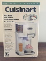 CUISINART SOFT SERVE ICE CREAM MAKER in Yucca Valley, California