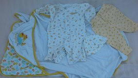 newborn to 3mos. Rubber Duckee collection in Vacaville, California