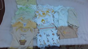 onesies for boys or neutral 0-3 months in Vacaville, California