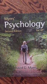 Psychology Textbook in Chicago, Illinois