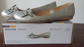 Ballerina silver Size 41 NEW in Ramstein, Germany