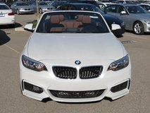 BMW 228i Convertible for sale or leasing in Los Angeles, California