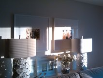 Two Beautiful Table Lamps in Algonquin, Illinois