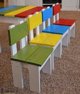 Wood kids table chair activity desk toy PlayStation in Camp Lejeune, North Carolina