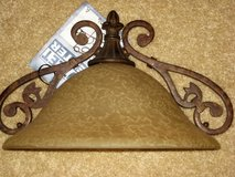 NWT amber sconce/light fixture in Kingwood, Texas