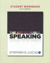 Student Workbook for The Art of Public Speaking $15.00 in Cherry Point, North Carolina