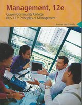 BUS-137: Principles of Management Craven Community College 12e $80.00 in Cherry Point, North Carolina
